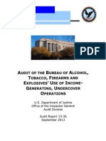 AUDIT OF THE BUREAU OF ALCOHOL,