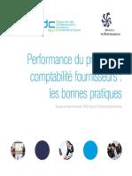 Performance du processus comptabilité fournisseurs