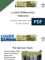 German Information Session 2013
