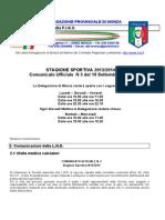 Comunicato 5 Monza