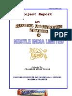 Marketing Advertising Strategy of Nestle India Limited