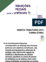 DT Espécies Contribuições