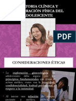 Expl. Ginecologica Adolescente