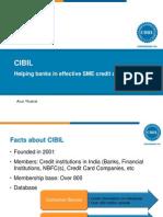 Presentation by Arun Thukral, MD CIBIL