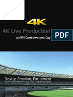 4K Production Trial at FIFA Confederations Cup 2013