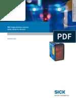 Laser Distance Sensor Datasheet DL50-P2225