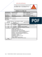 Sika Grout 250 - Msds-010-09