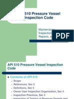 API 510 Pressure Vessel Inspection