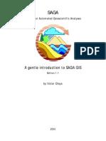 Víctor Olaya - ''A Gentle Introduction To SAGA GIS (Edition 1.1)''