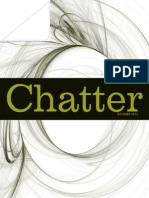 Chatter, October 2013