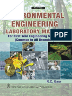 Environmental Engineering Laboratory Manual