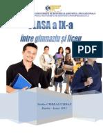 2013 Studiu Clasa a IX a Final