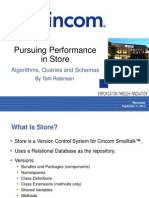 Pursuing Performance in Store