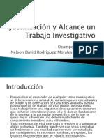Justificacion y Alcance en Un Trabajo Investigativo
