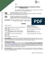 Programa Jornadas Técnicas WP 2013-14