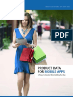 Whitepaper Product Data for Mobile Apps
