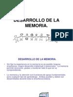4desarrollo de La Memoria