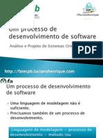 Um Processo de Desenvolvimento de Software