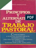 Alberto Barrientos - Principios y Alternativas de Trabajo Pastoral