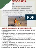 TOPOGRAFÍA II _ 2013_I