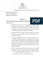 14 Anos a Lutar pela FREGUESIA - Moção Assembleia Municipal de Lisboa