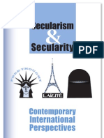 Secularism & Secularity
