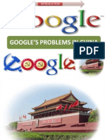 Google Problem in China