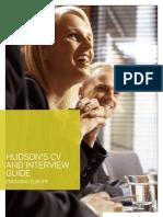 Hudson Legal CV Interview Guide