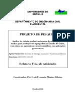 Analise Cadeia Produtiva Rochas p Agregados de Goias 2008