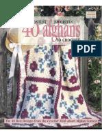 66748779 LA Contest Favorites 40 Afghans to Crochet
