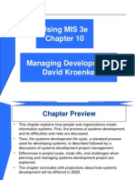 Managing Development Ch10