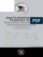 Constirucion Politica Nahuatl Senado 2010