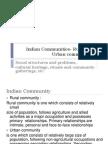 Indian Communities- Rural and Urban Communities