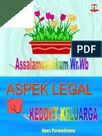 Legal Aspek Kedokteran Keluarga