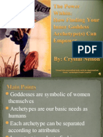 Goddess Archetypes Power Point
