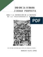 BUDA Y LA INSTRUCCIÓN DE LA DOCTRINA DE LA TRASCENDENCIA HUMANA ILUSTRADA POR CRISTO