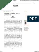 Ekosistem Padang Lamun (Rumbaru)