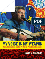 My Voice Is My Weapon by David A. McDonald