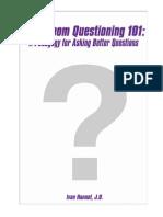 Classroom Questioning 101 - Ivan Hannel