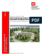 78966766 U S Army Corps of Engineers Early Design Energy Analysis Using Building Information Modeling Technology by Annette L Stumpf Hyunjoo Kim and Elis