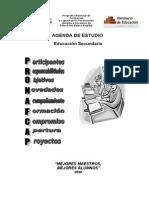 Agenda de Estudiopronafcap 2008