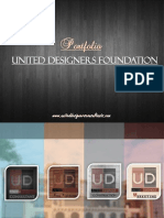 UNITED DESIGNERS FOUNDATION Portfolio 2013