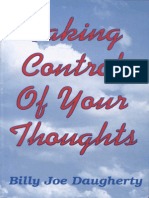 Taking Control of Your Thoughts - Daugherty