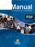 Sep Manual Para -La -Convivencia Escolar 2012