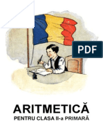 ARITMETICA Pentru Clasa II-A Primara - 1942