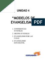 Ejemplos de Evangelismo Estudiantil