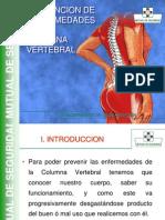 Prevencion de Enfermedades de La Columna Vertebral