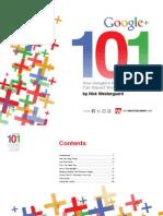 Google Plus 101 eBook