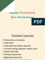 Marine Productivity_MEST 2013