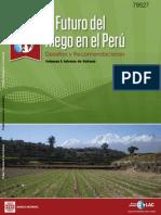 El Futuro Del Riego en El Peru